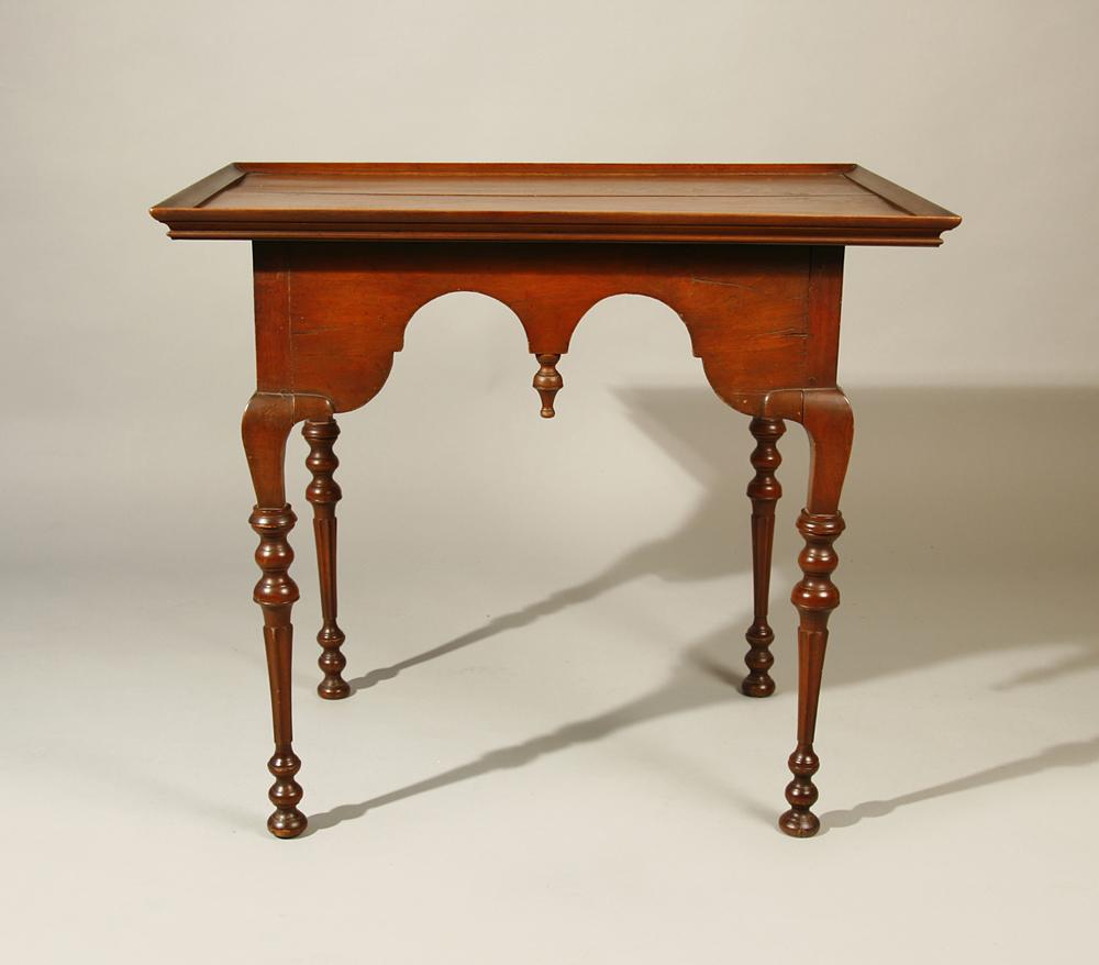 Antique chair legs - Antique Tea Table