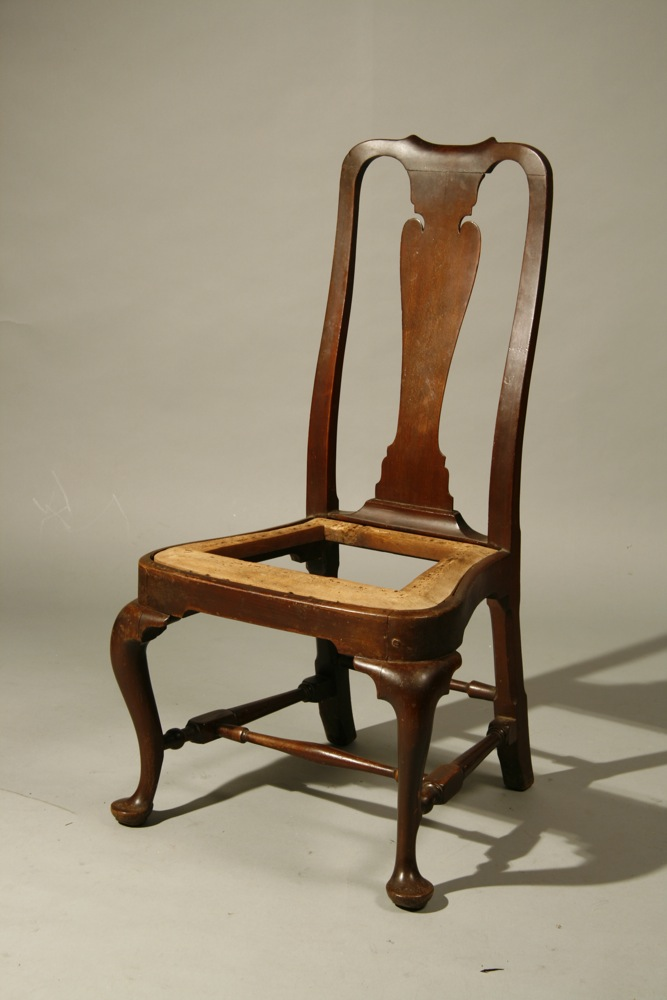 antique Boston Queen Anne chair - Sold - Peter H. Eaton Antiques