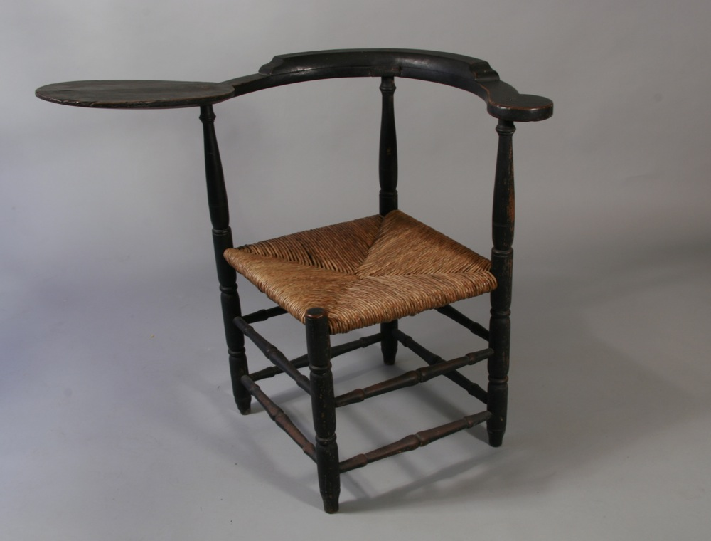 antique corner chair - Peter H. Eaton Antiques 8 Federal St. Wiscasset, ME 04578