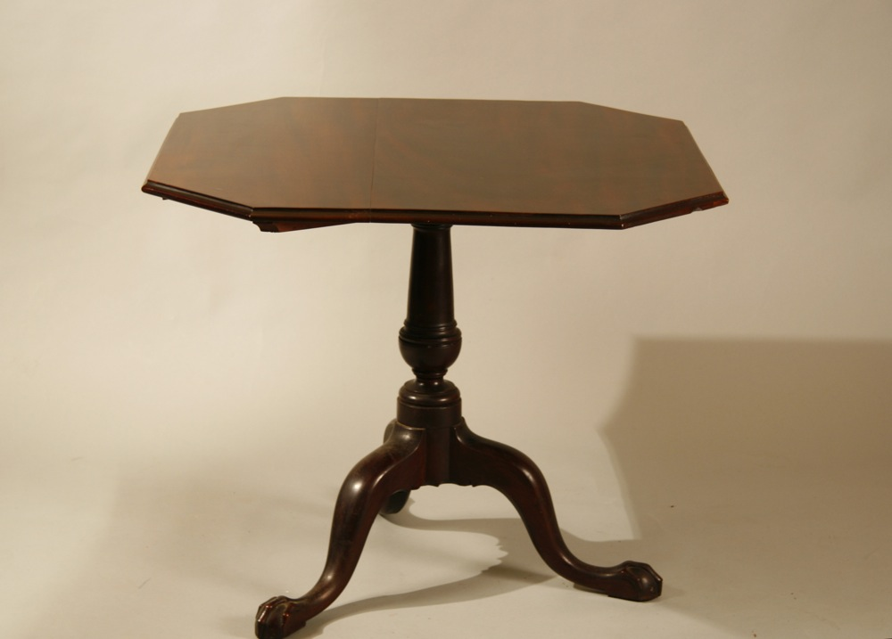 antique Chippendale breakfast table