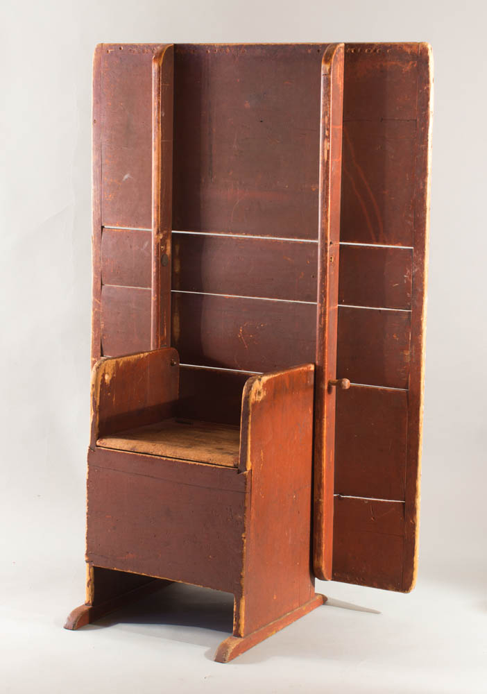 >A terrific shoe-foot hutch table