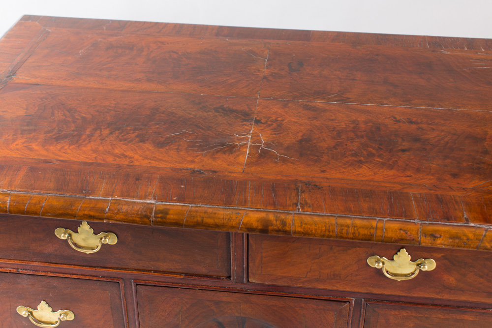 An exceptionally rare Boston area dressing table
