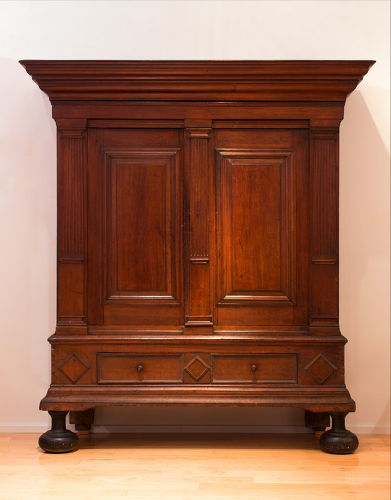 A very fine Hudson Valley kast - Inventory - Peter H. Eaton Antiques