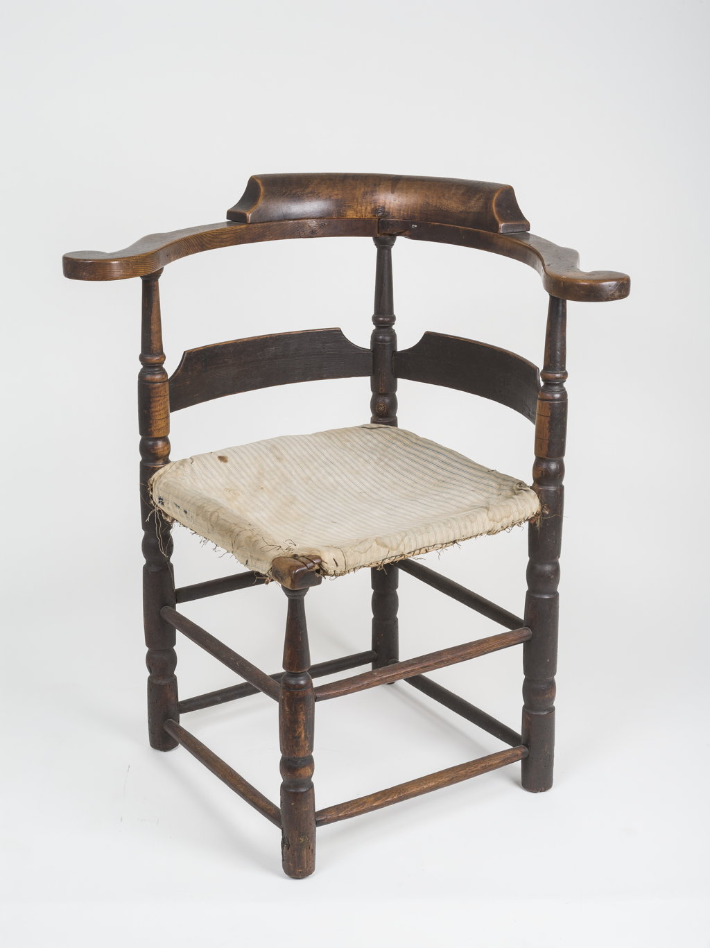 A fine William and Mary corner chair