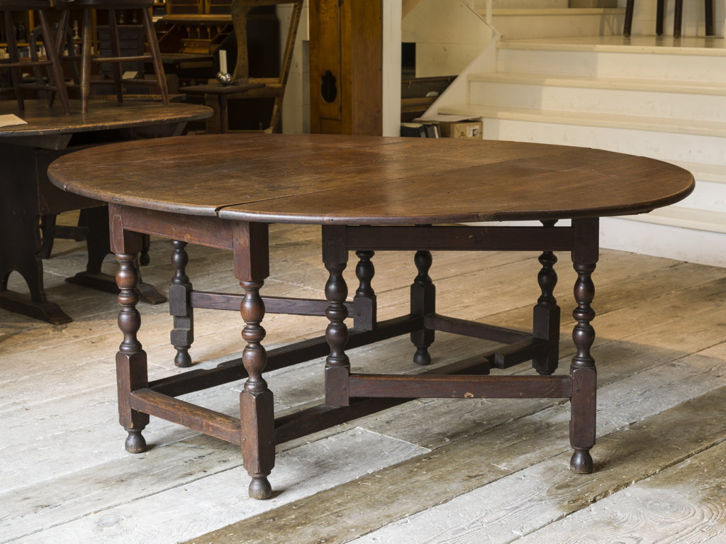 A rare gateleg table