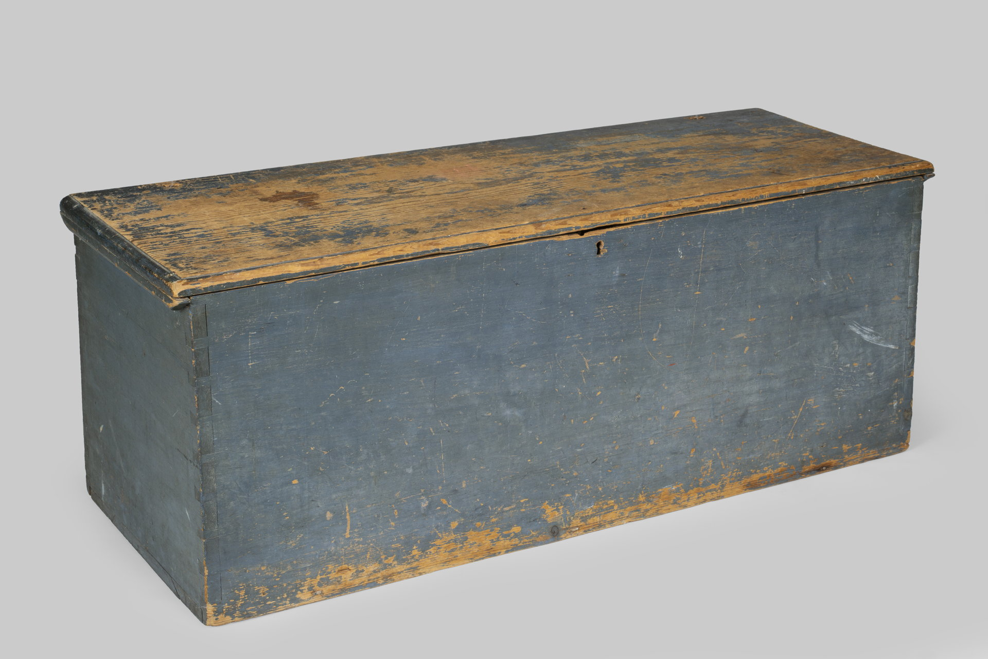 Blue Painted Sea Chest