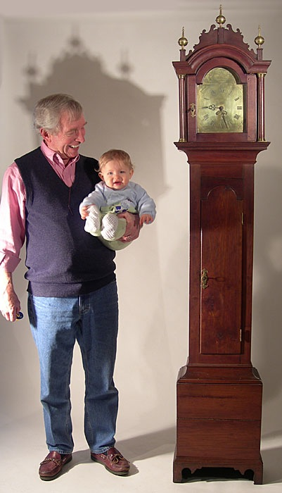 Peter and grandson Huck
